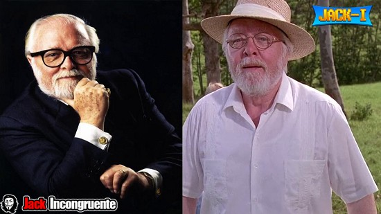 Jurassic park Richard Attenborough John Hammond