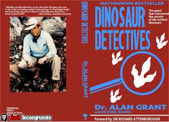 Jurassic Park Detectives dinossauro livro Alan Grant