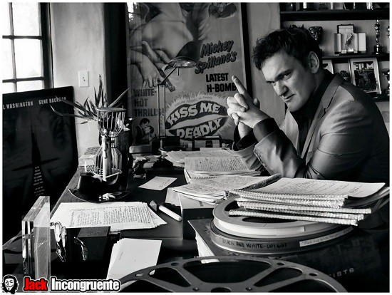 quentin-tarantino-Making movie