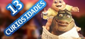 Curiosidades serie dinosaurios nene consentido 2