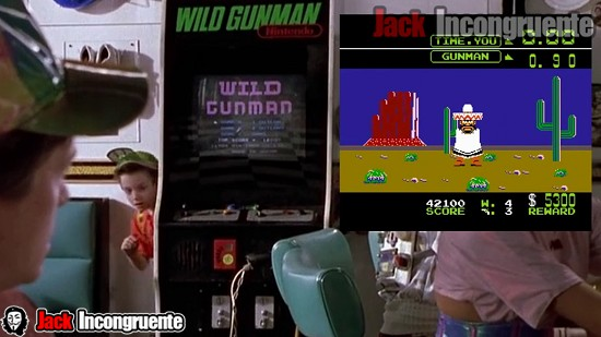 Fun facts back to the future part II juego Wild Gunman