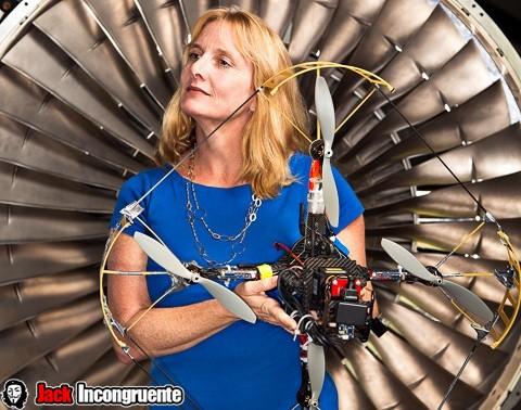 Missy Cummings drone white house