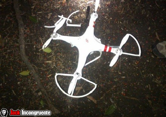 cae drone down drone white-house