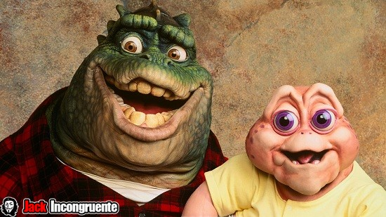 serie de comedia Dinosaurios