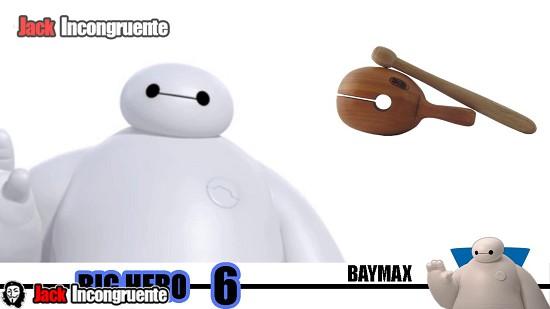 Big hero 6 curiosidades los ojos de Baymax inspirados en un instrumento de percusión llamado moktak