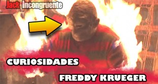 Curiosidades de Freddy Krueger - A nightmare on elm street 1984