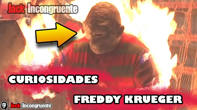 Curiosidades de Freddy Krueger - A nightmare on elm street 1984