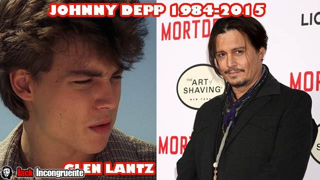 actores pesadilla-en-Elm-Street Johnny Depp-antes-y-despues-1984---2015b