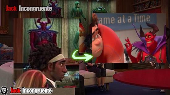 big hero 6 curiosidades Ralph el demoledor Saitine
