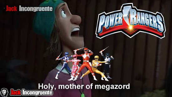 big hero 6 powerrangers - mother of megazord