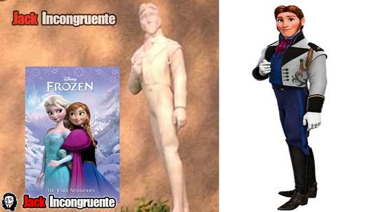 curiosidades big hero 6 Hans, del filme Frozen