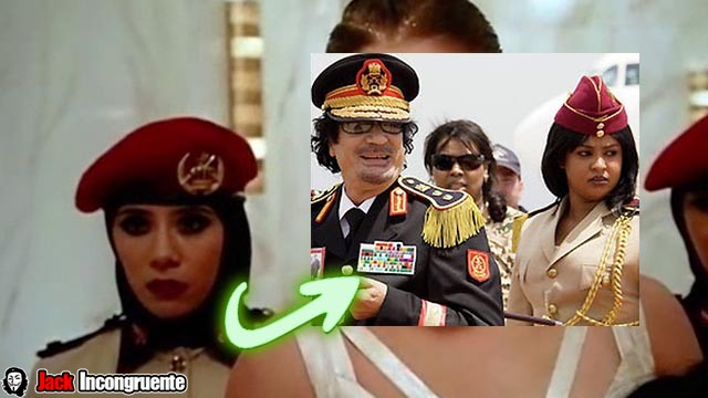 Curiosities of Fast and Furious female bodyguards reference to the Amazon Guard Muammar Gadaffi