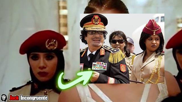 Curiosidades de Rapido y Furioso guardaespaldas femeninas referencia a la Guardia Amazónica de Muammar Gadaffi