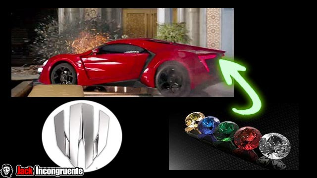 Curiosities from the fast and furious 7 car lykan hypersport