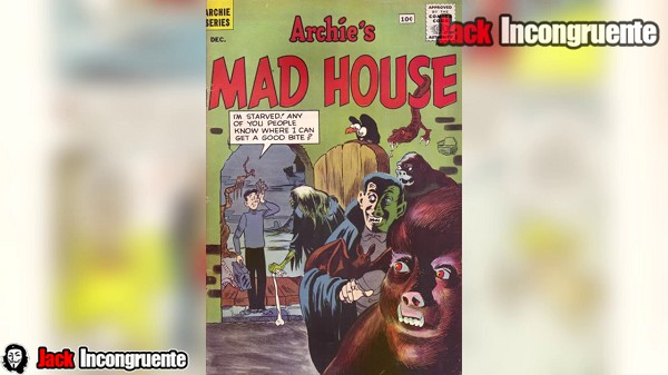 Sabrina first appeared in comic number 22 named Archie's Madhouse # 22