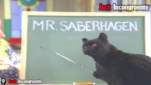 Salem witch cat Saberhagen