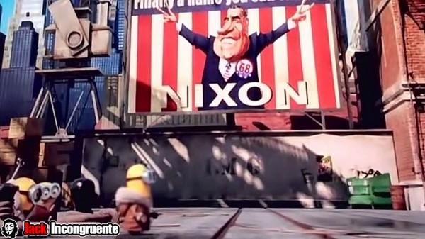 trivia movie minions nixon 2015
