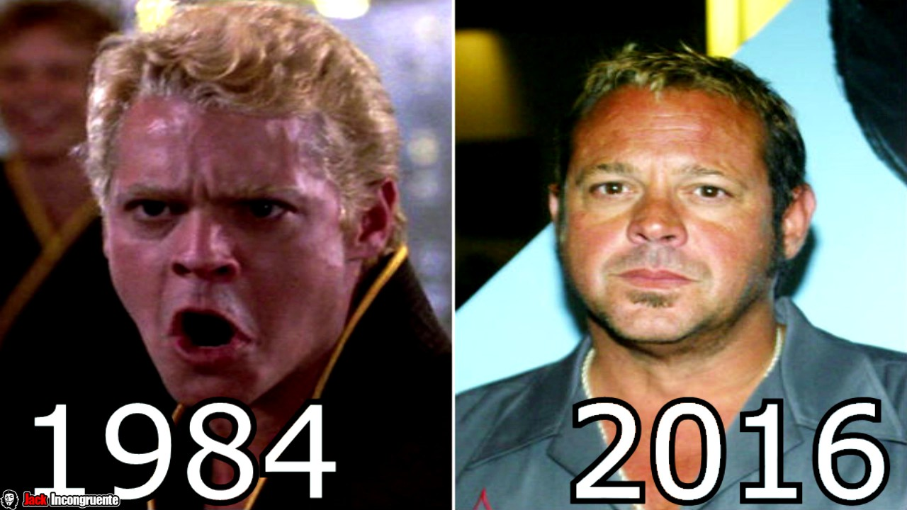karate kid personajes antes y despues 2016 chad