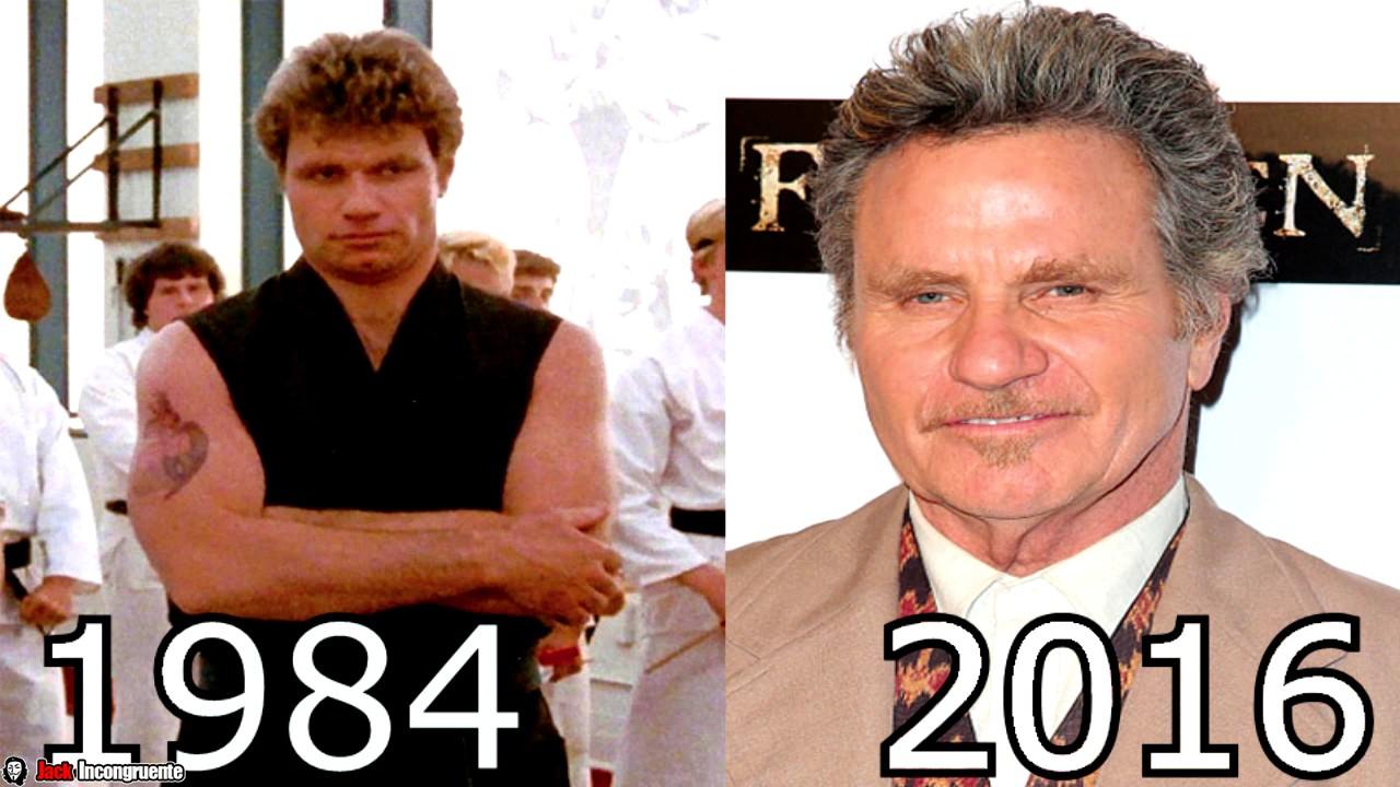 karate kid personajes antes y despues 2016 krese