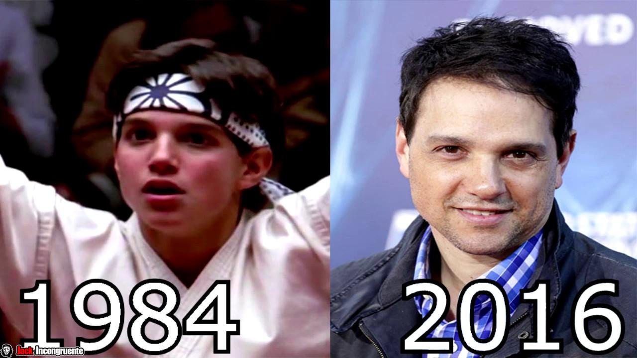 karate kid personajes antes y despues 2016 daniel