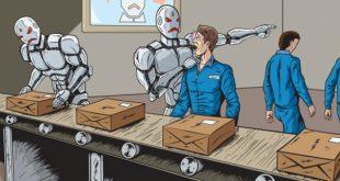 Empresa china contrata robots y despide a sus empleados humanos