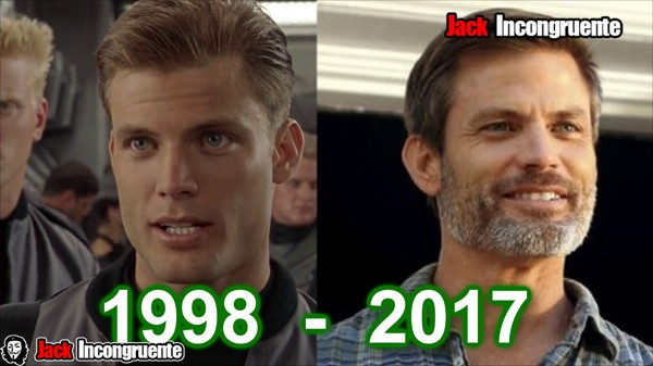 Starship Troopers Johnny Rico Casper Van Dien antes y despues 2017