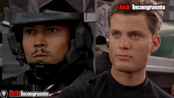 Starship troopers Johnny Rico es filipino y de piel morena