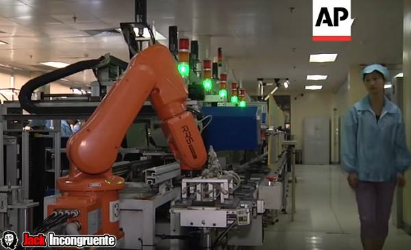 empresa china despide a sus empleados y los remplaza por robots