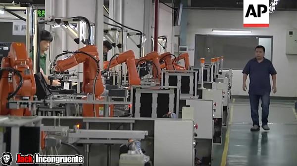 robots empresa china 2017
