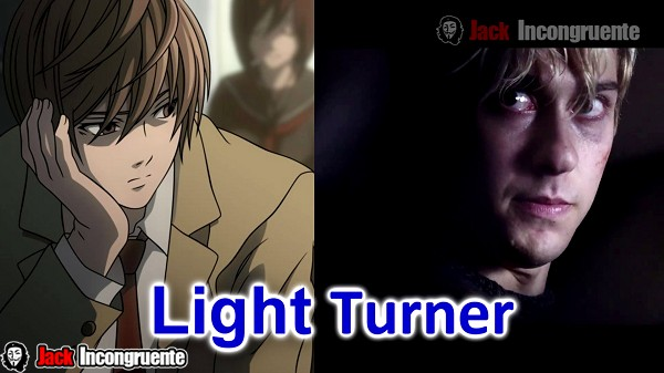 Death Note Disponible en Netflix Light Turner