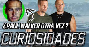 Rapido y furioso 8 Paul walker 3d