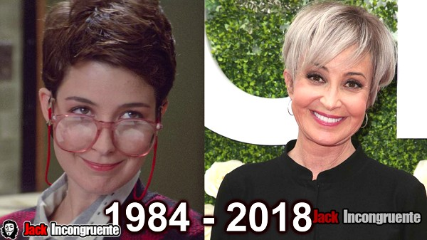 cazafantasmas antes y despues 2018 Annie Potts Janine Melnitz