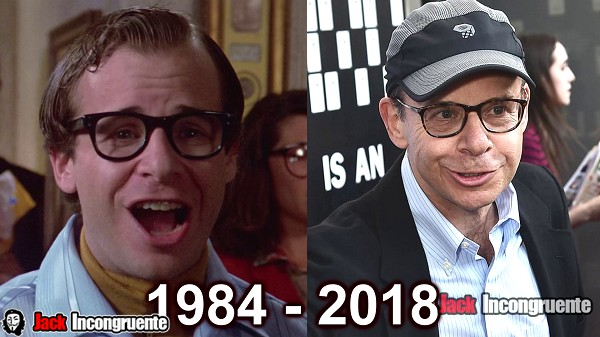 cazafantasmas antes y despues 2018 Rick Moranis Louis Tully