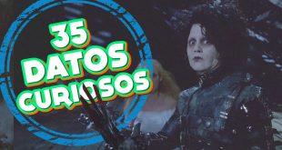 35 Curiosidades de Edward el joven manos de tijeras / Mini documental Jack incongruente