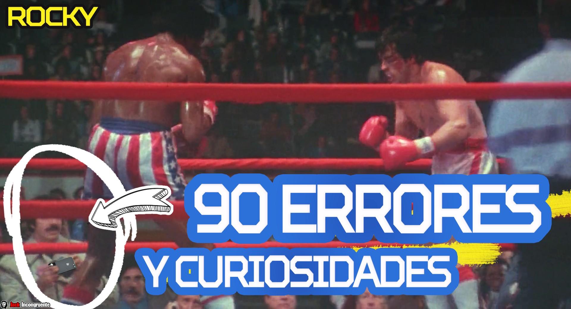 90 Errores y curiosidades de la pelicula ROCKY (pelicula de boxing silvester stallone)