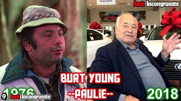 antes y despues pelicula rocky 2018 Burt Young paulie