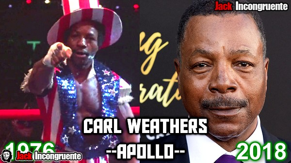 antes y despues pelicula rocky 2018 apollo creed Carl Weathers