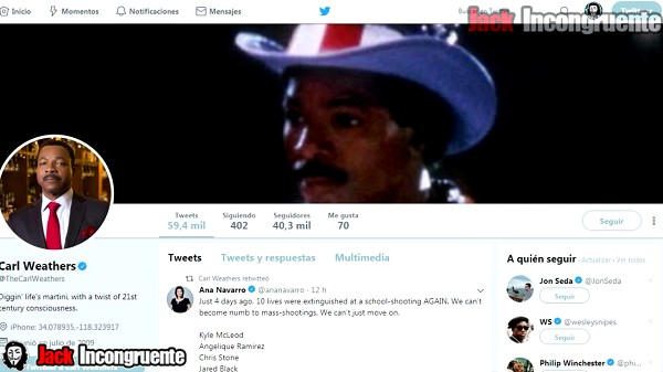 twitter apollo creed carl Weathers