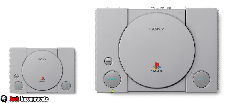 playstation mini mini es aproximadamente 45% más pequeña que la PlayStation original