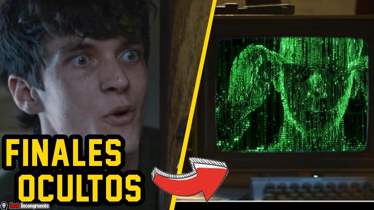 Curiosidades Black Mirror Bandersnatch Finales Perfectos + Finales Ocultos y Referencias