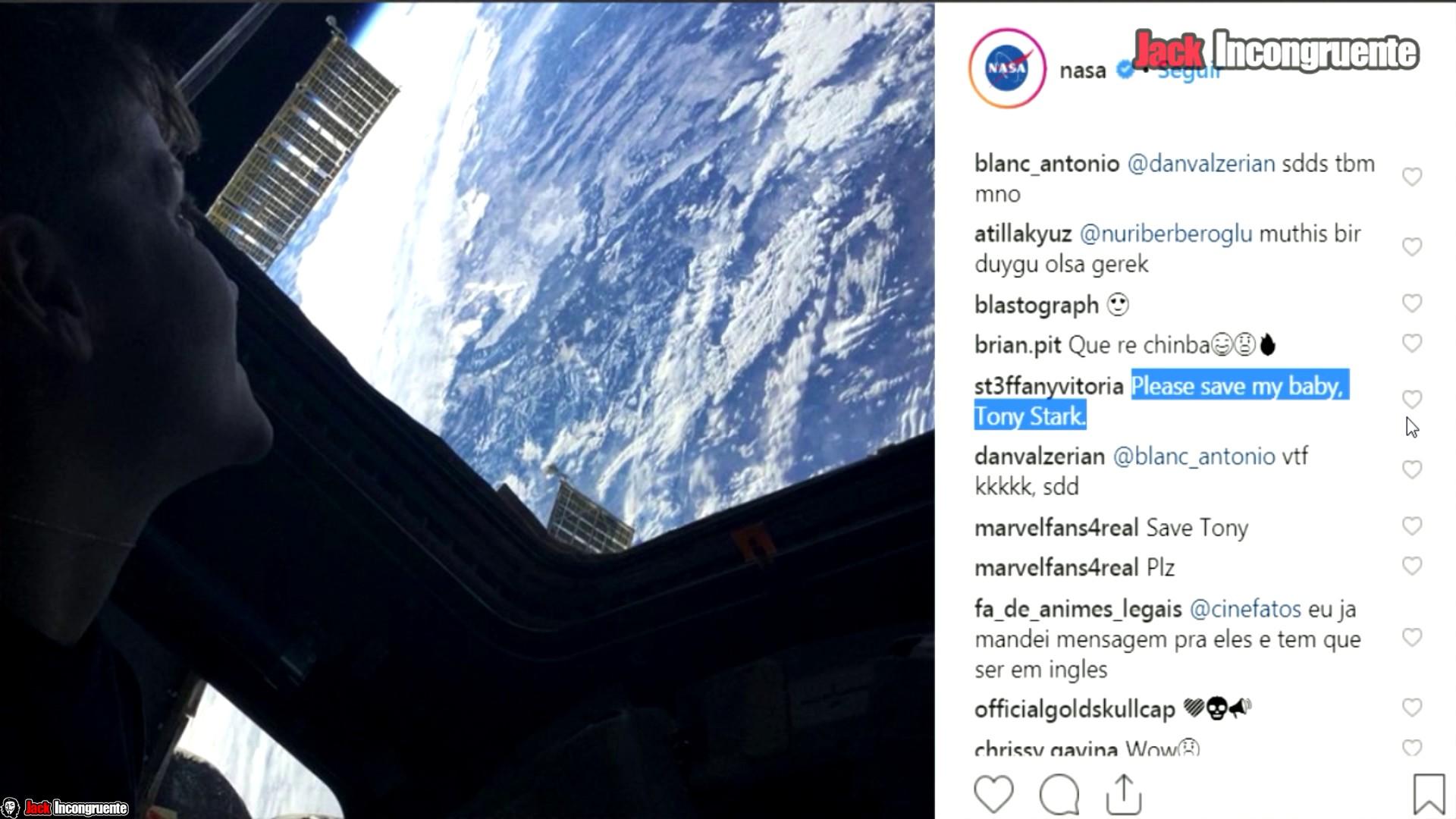 Curiosidades pelicula avengers-end-game-NASA astronauta Anne McClain