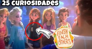 25 Curiosidades y Referencias que no viste de Ralph Breaks the Internet PELÍCULA