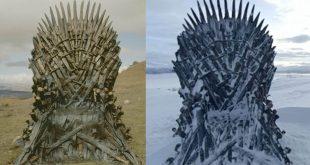 Game of Thrones Escondió 6 Tronos de Hierro por todo el mundo 2 de ellos ya fueron encontrados