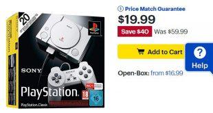 PlayStation Classic Baja deprecio hasta en 19 Dolares