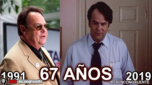 The before and after Harry Sultenfuss is to say the actor Dan Aykroyd is now 67 years old.