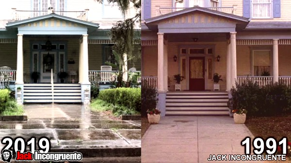 Locations movie my first kiss 1991 before and after Vada Sultenfuss' house