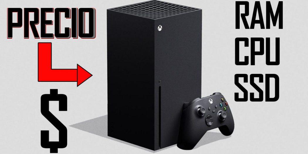 Xbox Series X Precio, especificaciones de lo que tiene dentro y juegos