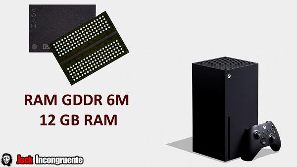 Xbox Series X memoria RAM será GDDR 6M Memoria ram 12 gb