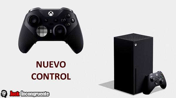 Xbox Series X nuevo control