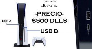 PLAYSTATION 5 - $ Precio de la consola $ / Puertos / Sistema de enfriamiento